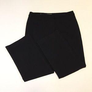* Talbots Womens 12 Signature Dress Pants Black